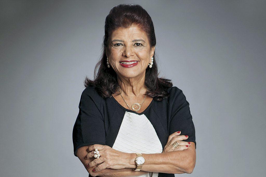 Luiza Helena Trajano, dona das lojas Magazine Luiza.