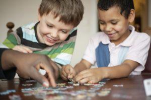 Puzzle para crianças – Aprendendo inglês brincando
